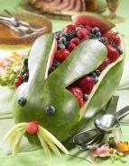 I love this idea! Watermelon & Berry Bunny.