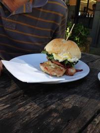 BOB- bacon & egg burger