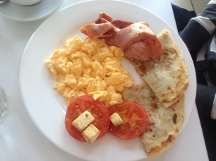 Scrambled Eggs & Bacon