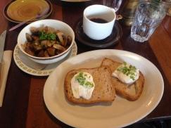 Poached Eggs & Mushrooms