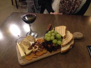 Cheese Platter & Cab Sav