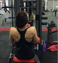 Narrow Grip Pull Downs
